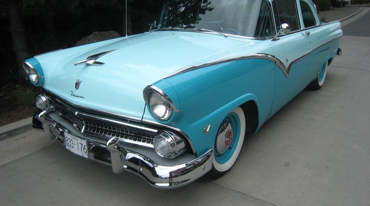 1955 Ford Fairlane Club Sedan Timmis Motortimmis Motor Coupe Suspension